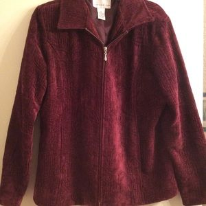 Beautiful Wine Velour M Jacket